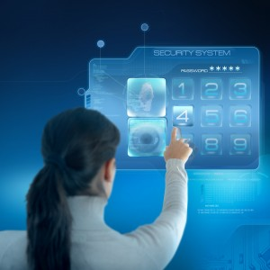 Hypermodern touchscreen alarmsysteem